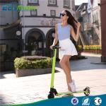 Le cavalier d'Eco le scooter d'équilibre électrique de 5 pouces, deux roulent le scooter électrique de coup-de-pied avec du CE