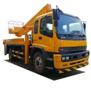 Isuzu Platform Truck 20m-22m 23mftr /Fvr (Telescopic Boom Aerial bucket truck, high altitude operation truck Street Lights maintenance)