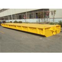 Quality 80T Capacity FlatBed Roro Mafi Trailer , 60 Feet Roro Container Ship Trailer for sale