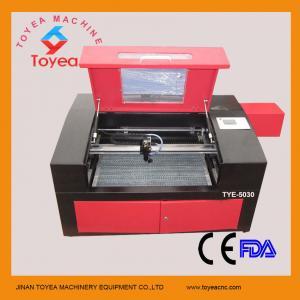 Plastic CO2 Laser engraving machine 500 x 300mm TYE-5030