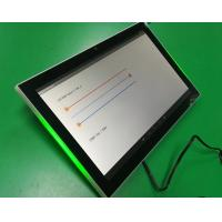 China Meeting room booking POE/DC powered Android 7'' tablets with 3-colors LED indicator bar on sale