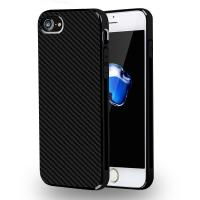 Quality Luxury Carbon Fiber Pattern Soft TPU Bumper Cover Case For Apple iPhone 7 for sale