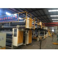 Quality Steam Heating 5 Ply Corrugated Paperboard Production Line With 1600mm Effective Width for sale