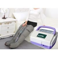 Quality Sequential Inflatable Leg Massager , Blood Circulation Long Boot Air Massager for sale