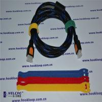 Quality Logo Printable Hook And Loop Straps Wire  Straps Various Shape for sale