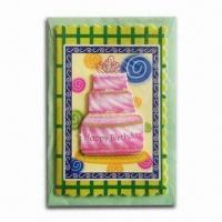 Quality Happy Birthday Card in Delicate Design and Beautiful Color for sale