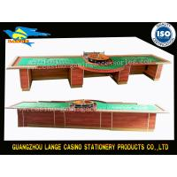 Buy cheap High Quality Roulette Table With 32Inch Roulette Wheel Large Size Gaming Table from wholesalers