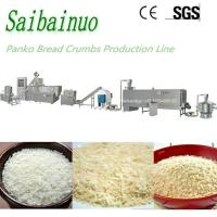 China Automatic High Efficient Bread Crumbs Panko Making Machine with Packing on sale