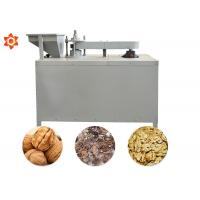 Quality Commercial Pecan Shelling Machine Walnut Pecan Hard Nuts Cracking Machine 400kg/H for sale