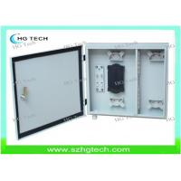 Quality Outdoor 12Core Wall Mount Fiber Optical Distribution Box, White/Black Color for sale