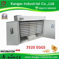 Quality 2017 Latest Fully Automatic 3520 Eggs Incubator with CE Certification for sale
