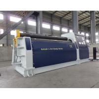 China Sheet 4 Roll Plate Rolling Machine , 4 Roller Bending Machine on sale