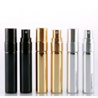 China 5ml 10ml 15ml Empty Glass Perfume Bottles , Cosmetic Spray Bottle With Aluminum Atomisers on sale