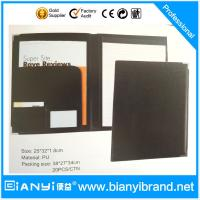 Quality A4 PU leather Portfolio file folder ,A4 PVC document folder,credit card folder for sale