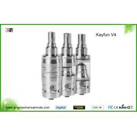 China Stainless Steel Ecig Mechanical Mods , Rebuildable Kayfun V4 Atomizer Clone on sale