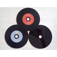 Quality OEM Professional 650MB, 700MB Black Vinyl PC VCD 52X CD Replication Services for sale