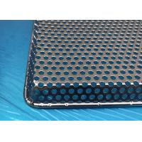 Buy cheap FDA Certification Stainless Steel Perforated Metal Trays With Customized Size from wholesalers