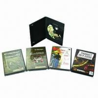 Quality DVD Replication with Black Single DVD Case, Colorful Cover Insert, Shrink Wrapped Packaging for sale