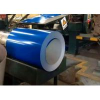 Quality SGCC Color Coated Galvanized Steel Coil Blue Red White For Corrugated Sheet Overlay Film for sale