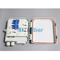 Quality SC 8 Port Waterproof Fiber Optic Distribution Box for FTTH Networks for sale
