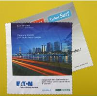 Quality Microfiber Screen Cleaning Cloth, Digital Printing Microfiber Cleaning Cloth for sale