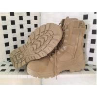 Quality Hot sale desert leather army boot for sale