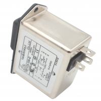 Quality Low pass Low-frequency IEC inlet EMI Filter With fuse-holder and switch with light for sale