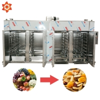 Quality OEM Automatic Food Processing Machines / Vegetable Meat Drying Equipment for sale