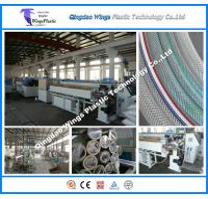Quality PVC Garden Hose Making Machine, PVC Fiber Reinforced Hose Extrusion Line for sale