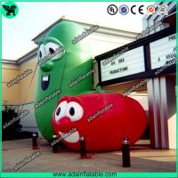 Quality Inflatable Vegetable Character Advertising Inflatable Bean Inflatable Tomato Replica for sale