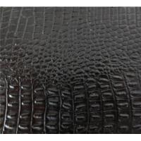 China NEW STYLE 100% PU SYNTHETIC LEATHER FOR SHOES on sale