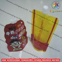 Quality Strong Freeze Resistance Spout Pouch Packaging For Liquid for sale