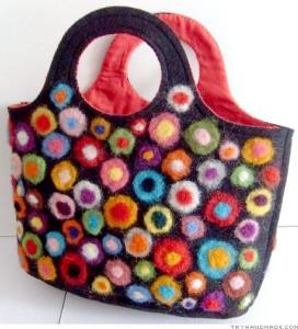 Quality Felt gift basket for sale