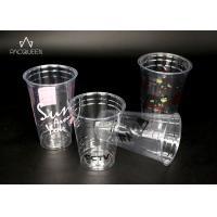 China PET Disposable Transparent Plastic Cup , Clear Disposable Cups on sale