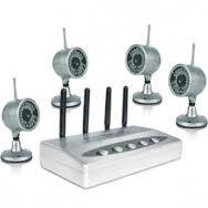Quality View 4 infrared Images Wireless CCTV Camera Systems CX-W802Z4 with 2.4ghz receiver for sale