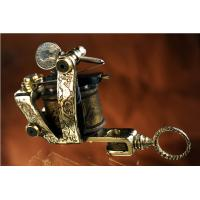 Quality Manual Custom top rated Handmade Cuprum Brass Tattoo Machine Gun for sale