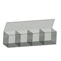Quality High Strength Hexagonal Gabion Box Reinforced Soil Systems Sample Available for sale