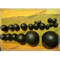 Quality Round Steel Cement Grinding Balls , Air Hammer Forged Steel Grinding Balls for sale