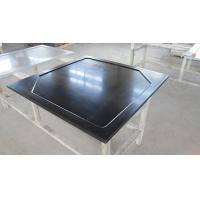 Buy Black  Epoxy Resin Worktop with Glare Surface and Marine Edge at wholesale prices
