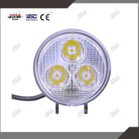 Buy cheap 10v-36v 3'' 9 W round 50000 hours lifespan super brightspot beam LED work lights from wholesalers
