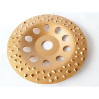 Quality 6 Inch 7 Inch Tungsten Carbide Grinding Wheel Flap Disc For Metal / Floor Grinding for sale