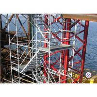 Quality Lightweight Ladders And Scaffold Towers Hot Dip Galvanized Easy Installation for sale