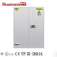 90 Gallon Toxic Chemical Safety Storage Cabinets With Double Locking System