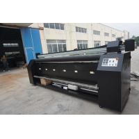 China Double Sided Sublimation Digital Textile Printing Machine For Fabric Polyester on sale