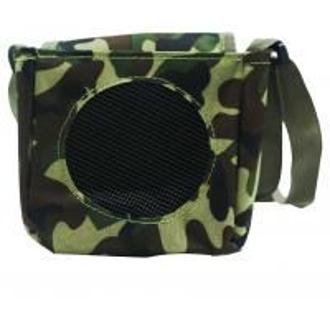 China Foldable Portable Bluetooth Speakers / Bird Caller Speaker Non Woven Bag Camouflage Shoulder Waist Handbag Gift on sale