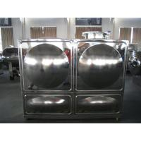 Buy Rectangular Combined Stainless Steel Water Tanks at wholesale prices