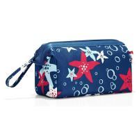 China Portable Waterproof Travel Toiletry Bag Small Fancy Polyester Material For Vacation on sale
