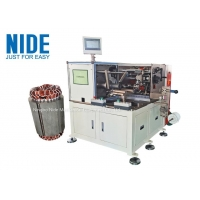 Quality 5.5hp Industrial Pump Motor Stator Coil Lacing Machine Horizontal for sale
