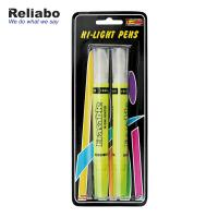 Dual-tip Novelty Highlighter Marker Multi Color Custom Cheap High Quality Sharpie Highlighter