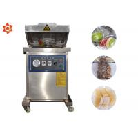 Quality 385mm Seal Distance Vegetable Vacuum Packing Machine 20m³/H Pumping Speed for sale